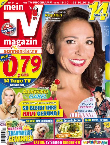 mein TV-magazin October 14, 2016 00:00