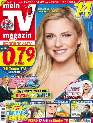 mein TV-magazin 15/2016