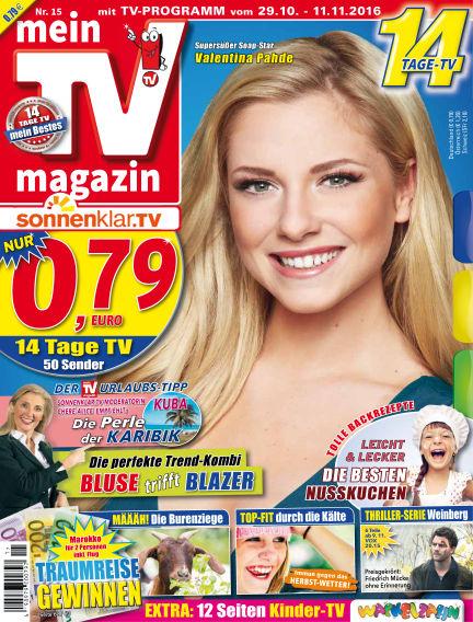 mein TV-magazin October 28, 2016 00:00