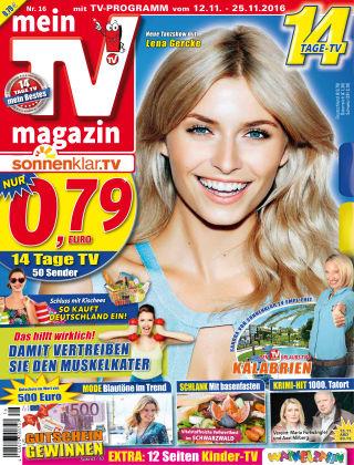 mein TV-magazin 16/2016