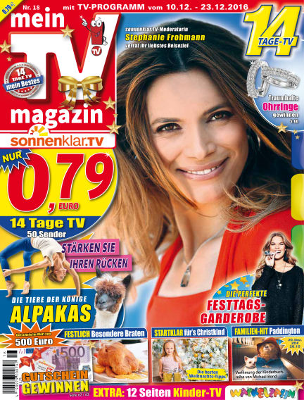 mein TV-magazin December 09, 2016 00:00