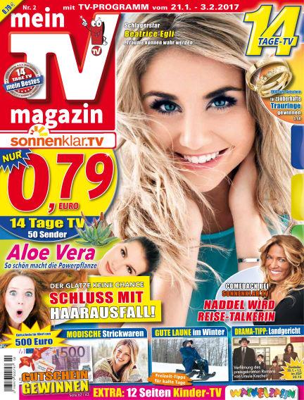 mein TV-magazin January 20, 2017 00:00