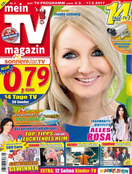 mein TV-magazin March 03, 2017 00:00