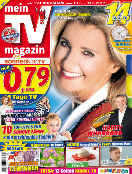 mein TV-magazin March 17, 2017 00:00