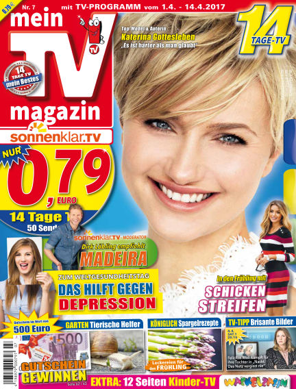 mein TV-magazin March 31, 2017 00:00