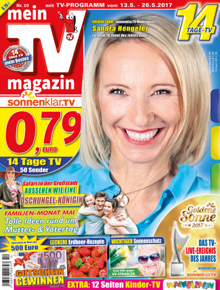 mein TV-magazin May 12, 2017 00:00