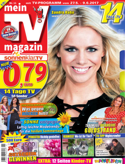 mein TV-magazin May 26, 2017 00:00