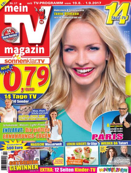 mein TV-magazin August 18, 2017 00:00