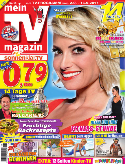 mein TV-magazin September 01, 2017 00:00