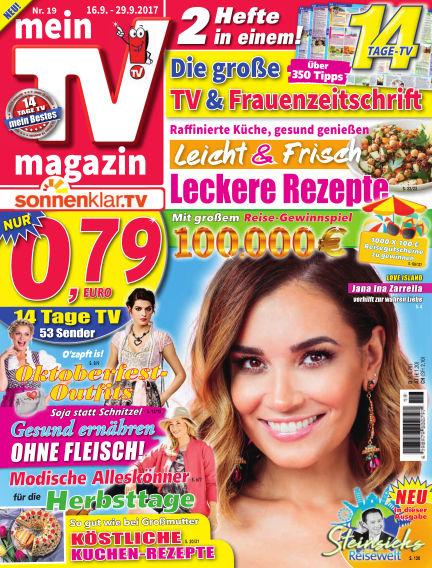 mein TV-magazin September 15, 2017 00:00