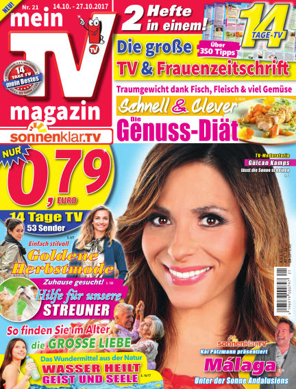 mein TV-magazin October 13, 2017 00:00