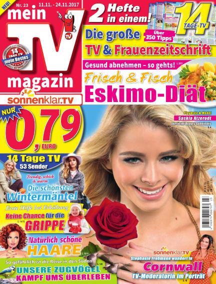 mein TV-magazin November 10, 2017 00:00