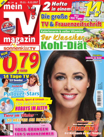 mein TV-magazin November 24, 2017 00:00
