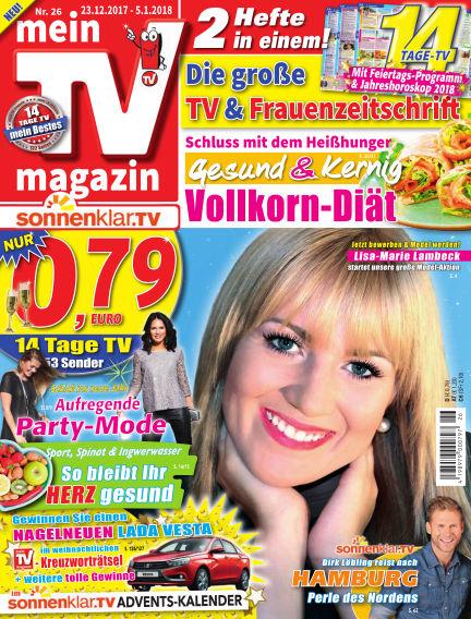 mein TV-magazin December 22, 2017 00:00