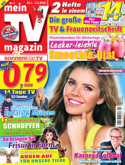 mein TV-magazin January 19, 2018 00:00