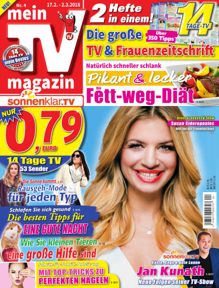 mein TV-magazin February 16, 2018 00:00