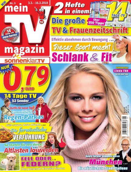 mein TV-magazin March 02, 2018 00:00