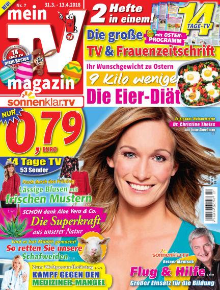 mein TV-magazin March 30, 2018 00:00