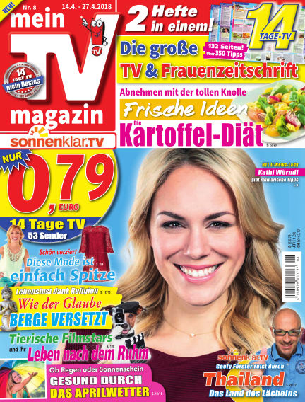 mein TV-magazin April 13, 2018 00:00