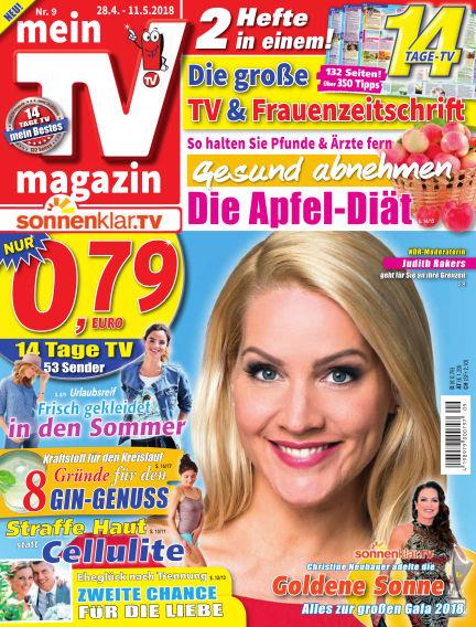 mein TV-magazin April 27, 2018 00:00