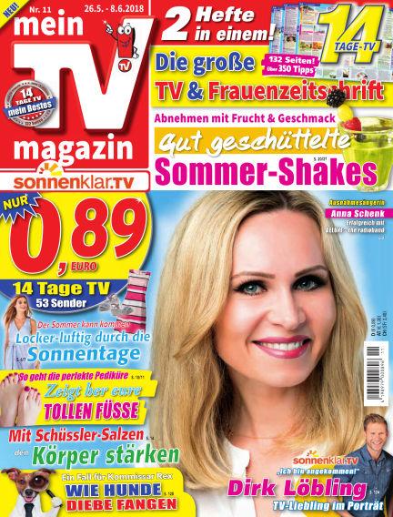 mein TV-magazin May 25, 2018 00:00