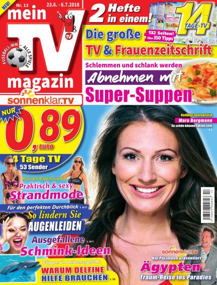 mein TV-magazin June 22, 2018 00:00