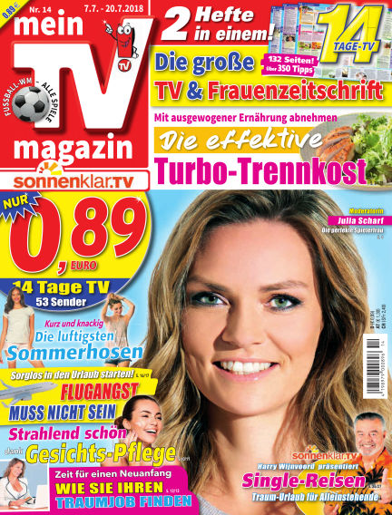 mein TV-magazin July 06, 2018 00:00