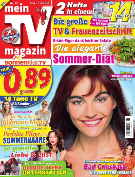 mein TV-magazin July 20, 2018 00:00