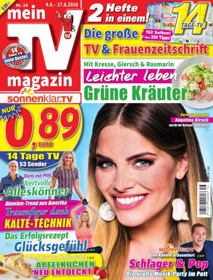 mein TV-magazin August 03, 2018 00:00