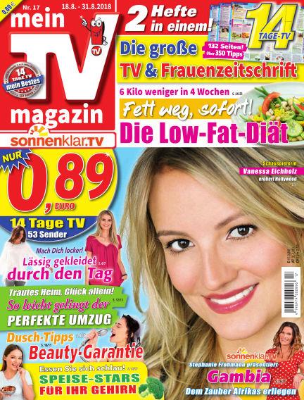 mein TV-magazin August 17, 2018 00:00