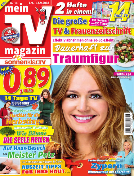 mein TV-magazin August 31, 2018 00:00