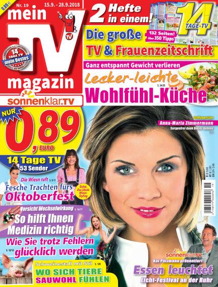 mein TV-magazin September 14, 2018 00:00