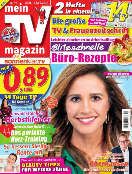 mein TV-magazin September 28, 2018 00:00
