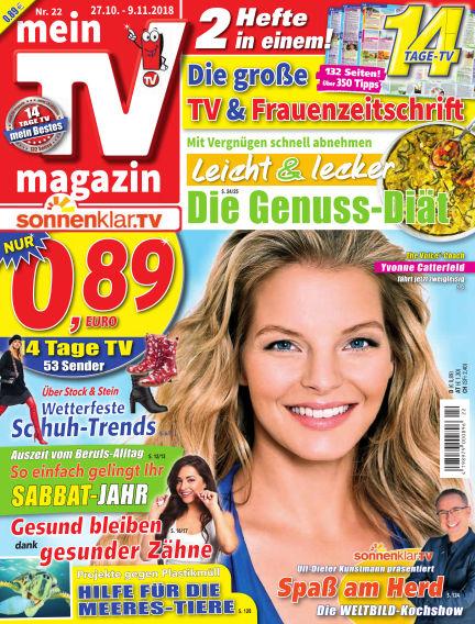 mein TV-magazin October 26, 2018 00:00
