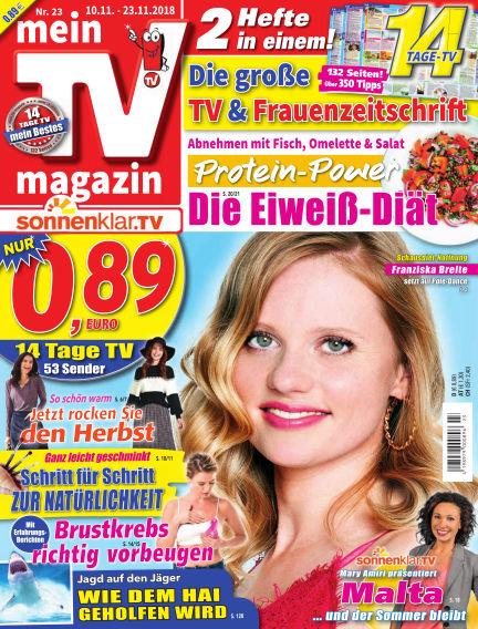 mein TV-magazin November 09, 2018 00:00