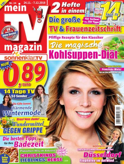 mein TV-magazin November 23, 2018 00:00