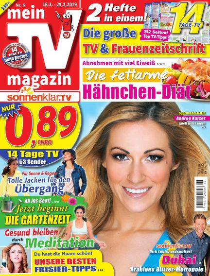 mein TV-magazin March 15, 2019 00:00