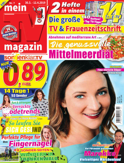 mein TV-magazin March 29, 2019 00:00