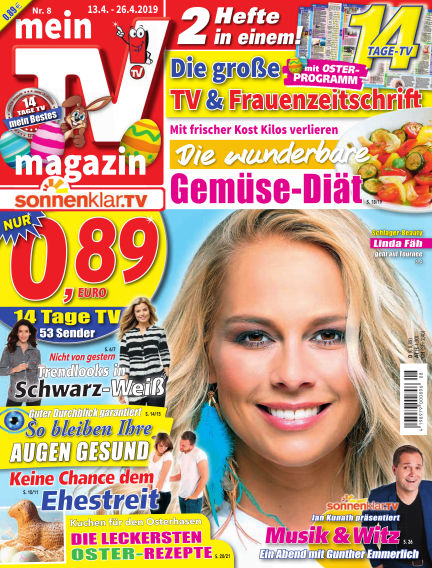 mein TV-magazin April 12, 2019 00:00