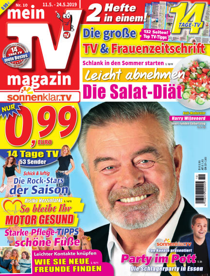 mein TV-magazin May 10, 2019 00:00