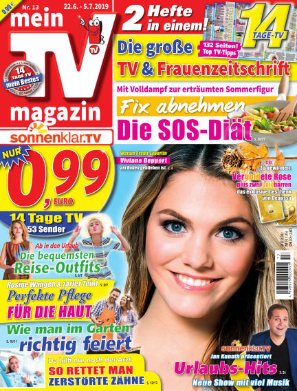 mein TV-magazin June 21, 2019 00:00
