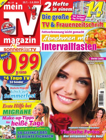 mein TV-magazin July 19, 2019 00:00