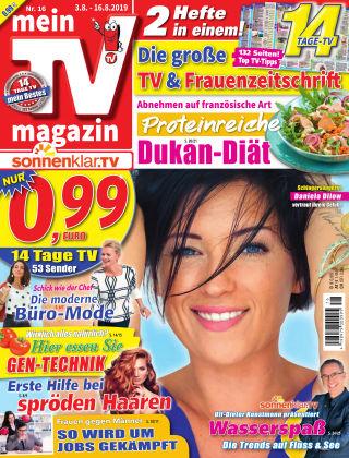 mein TV-magazin 16/2019
