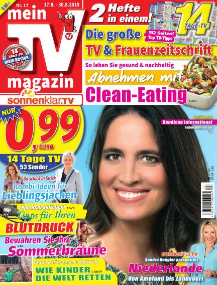 mein TV-magazin August 16, 2019 00:00