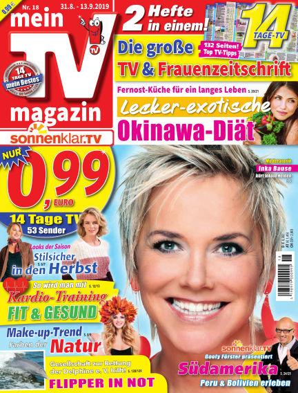 mein TV-magazin August 30, 2019 00:00