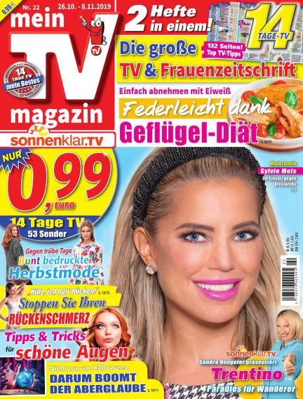 mein TV-magazin October 25, 2019 00:00