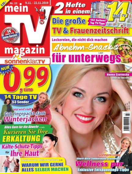 mein TV-magazin November 08, 2019 00:00