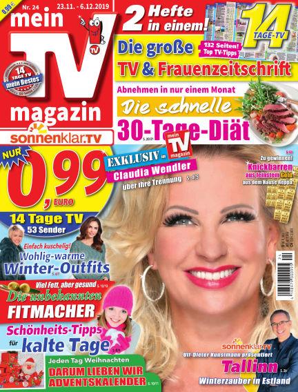 mein TV-magazin November 22, 2019 00:00