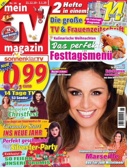mein TV-magazin December 20, 2019 00:00