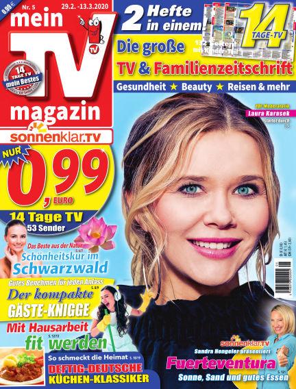 mein TV-magazin February 28, 2020 00:00